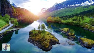 Amazing Nature Scenery in 4K ~ Breathtaking Nature & The Best Relax Music