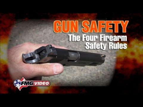 The Four Gun Safety Rules