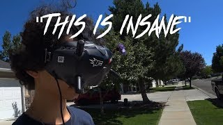 You probably shouldn't try the DJI HD FPV system ???? // Vlog
