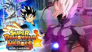 GOKU BLACK AND HIT HAVE BEEN ABSORBED!?! Super Dragon Ball Heroes World Mission Gameplay!