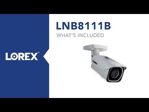 Unboxing the Lorex by FLIR LNB8111B 8-megapixel Security Camera