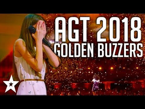 All Golden Buzzers Auditions on America's Got Talent 2018 | Got Talent Global (видео)