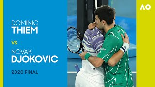 Dominic Thiem vs Novak Djokovic Full Match | Australian Open 2020 Final