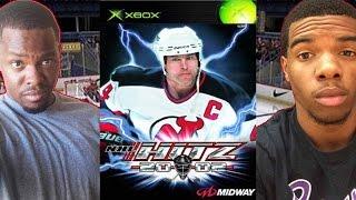 I HAD THE DEMO!! - NHL Hitz 2002   #ThrowbackThursday ft. Juice