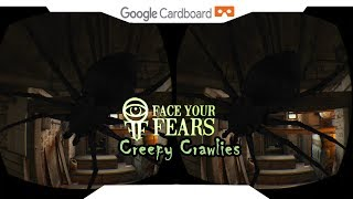 SBS 1080p► Creepy Crawlies VR • Face Your Fears • Samsung Gear VR Gameplay 2018