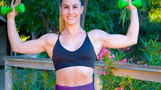 26 Min At Home Arms & Shoulders Workout by GymRa