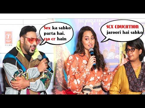 Man! Sonakshi Sinha in  ADULTWALA Mood at  Khandani Shifakhana Trailer Launch