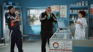 Как научиться лопнуть грелку - На троих - 4 сезон   ЮМОР ICTV