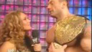 Anastacia Rose Interviews Batista 11/30/07