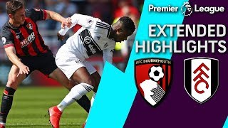 Bournemouth v. Fulham   PREMIER LEAGUE EXTENDED HIGHLIGHTS   4/20/19   NBC Sports