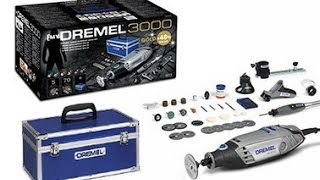 Dremel 3000 Gold Kit Lets Take A Look Part 1 Cutting Guide Attachment 565