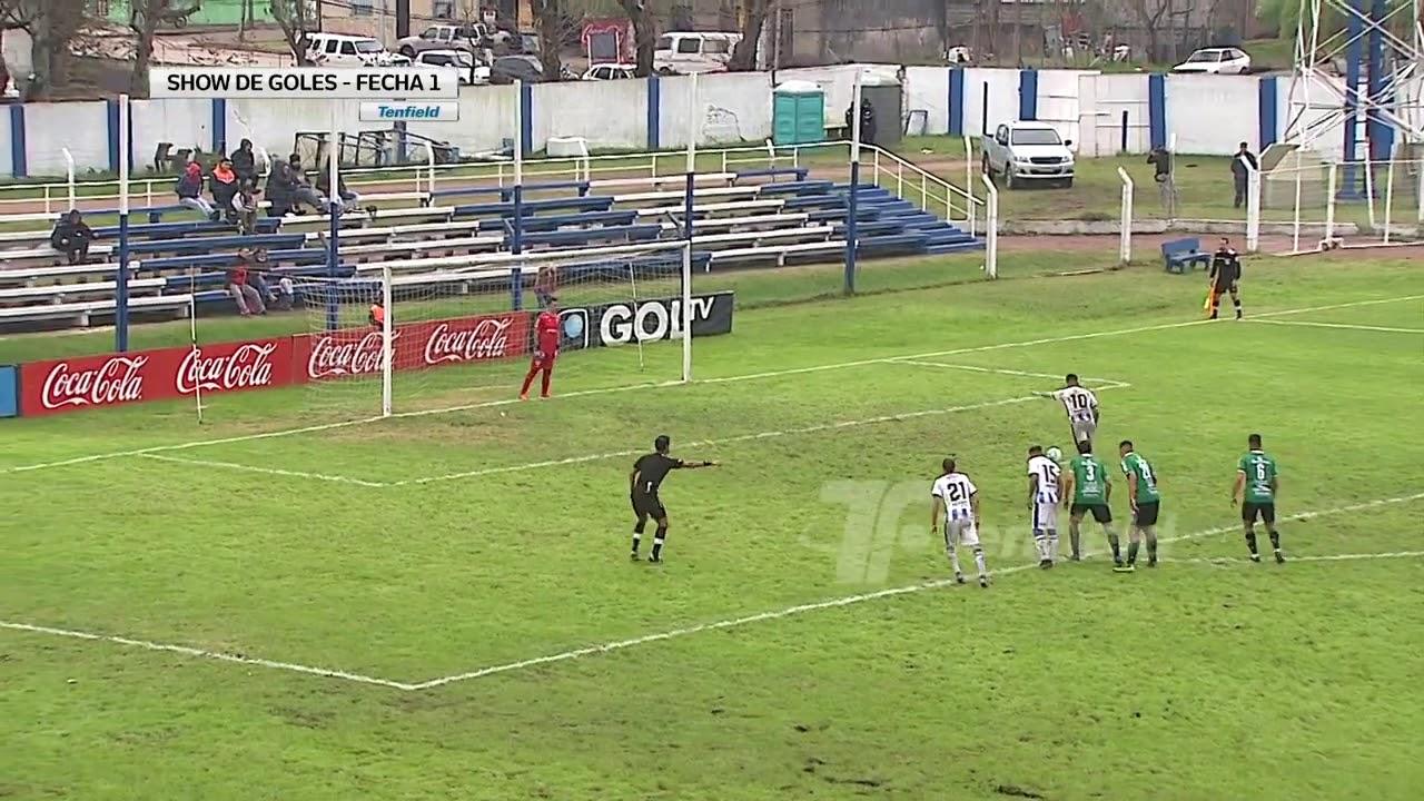 Show de goles de la fecha 1 del Intermedio 2019