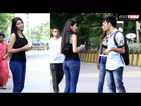 Hot Girl Calling Boys Baby (Jaanu) Prank - iDiOTUBE   Pranks In India