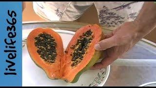 How to...Eat a Papaya