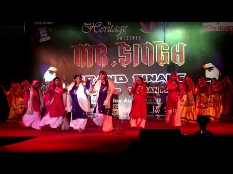 Mr. Singh Napur 2015 (modelling Competion)