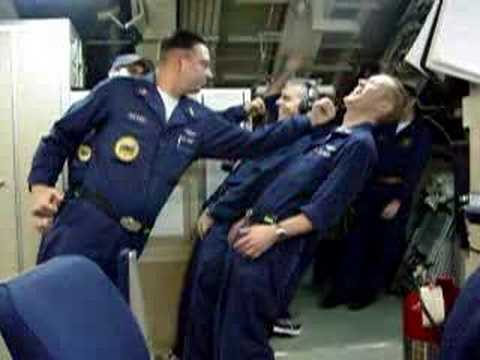 Submariners experience a 29 degree tilt