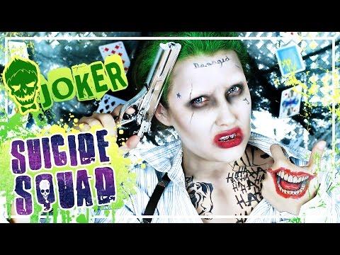JOKER Suicide Squad MAKEUP #TypischSissi