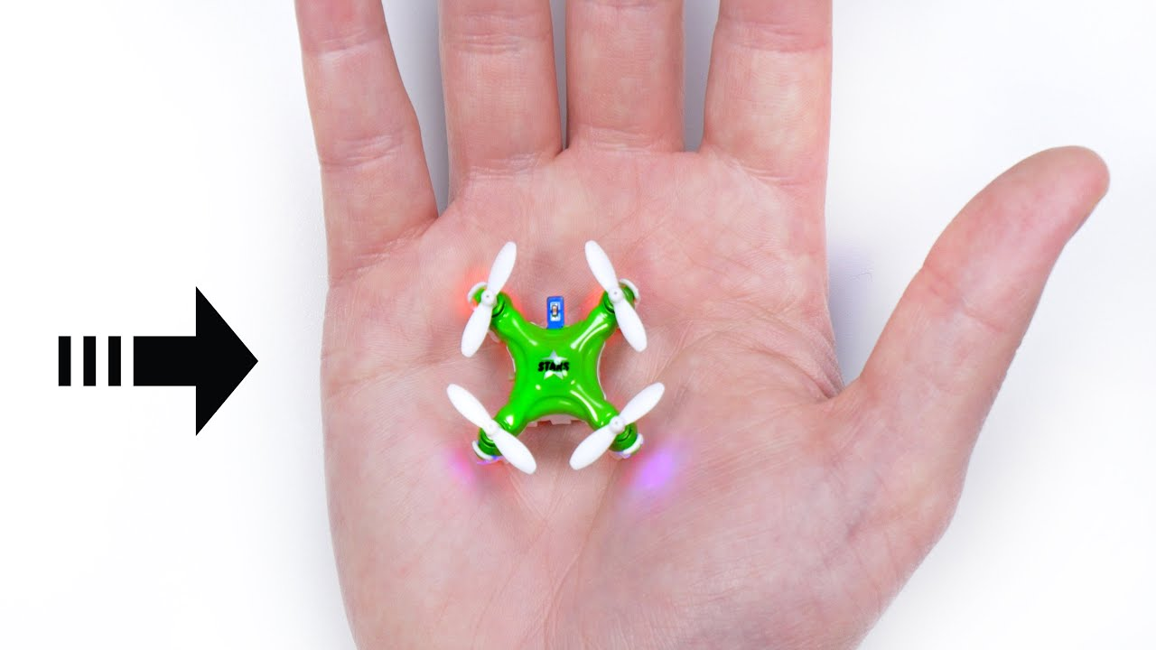 The World's Smallest Drone! thumbnail