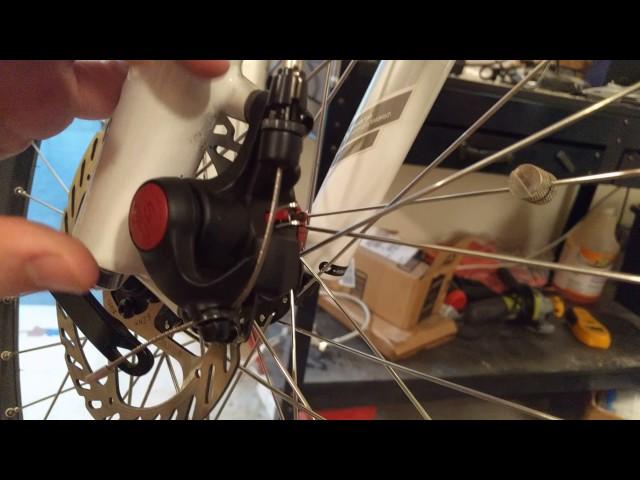 Видео Тормоз дисковый Avid BB5 MTB FR/RR 160IS 160G2CS черный