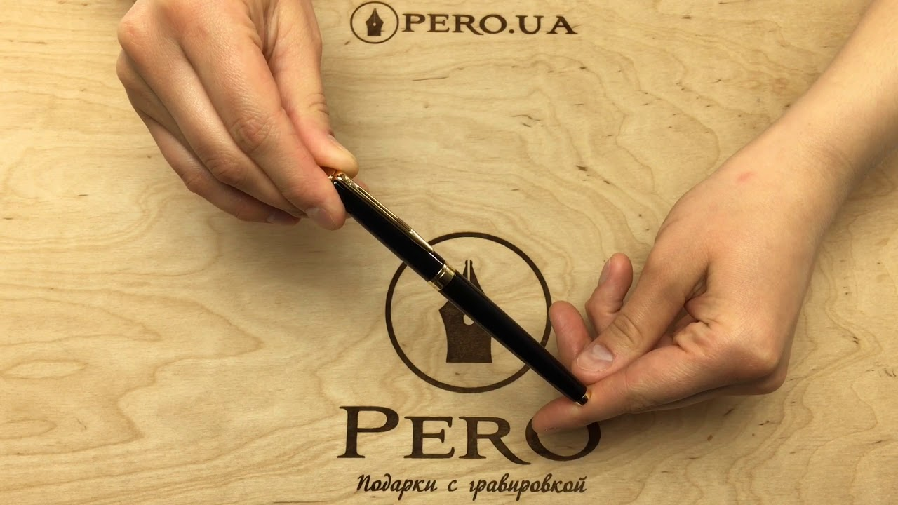 Ручка Waterman HEMISPHERE Black RB 42053