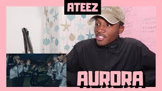 BLACK GUY REACTS TO: ATEEZ(에이티즈)   'AURORA' Official MV | THIS WAS TOO  LIT 🔥