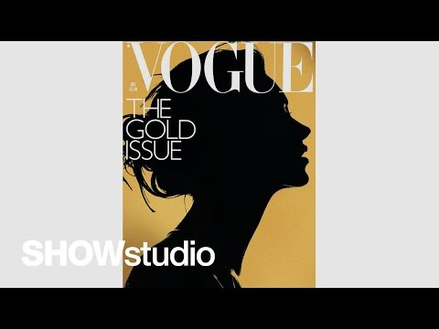 Subjective: Kate Moss interviewed by Nick Knight about their Vogue 'Gold Issue' cover