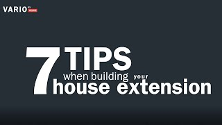 7 Tips For When Building A House Extension