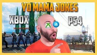 Xbox vs PS4 Yo Mama Joke Competition!