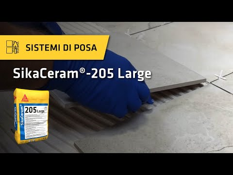 Tutorial: SikaCeram®-205 Large