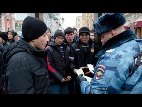 приставания милицию на мигрантов в россия