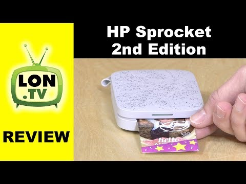 HP Sprocket 2nd Edition Portable Photo Printer Review