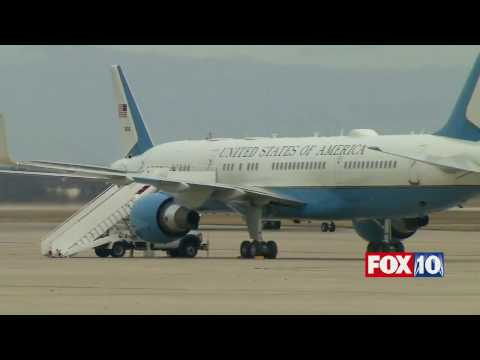 FULL COVERAGE: Trump Lands in D.C. on Official White House Plane for ...