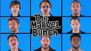 The Marvel Bunch! Avengers Infinity War - Brady Bunch