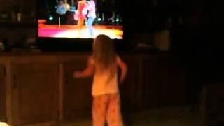 Dancing conga