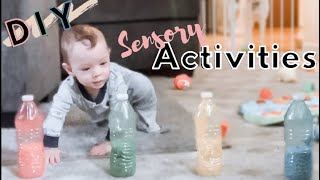BABY SENSORY PLAY ACTIVITIES- EASY DIY SENSORY IDEAS | 2020