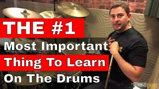 The Full Stroke: The #1 Most Important Thing To Learn On Drums