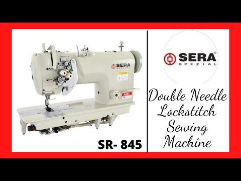 Double Needle Lockstitch Split Bar Sewing Machine