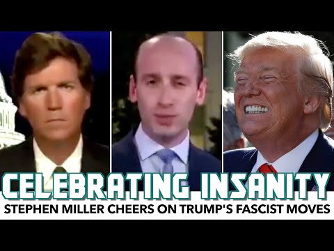 Stephen Miller Cheers On Trump's Fascist Moves