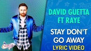 David Guetta Ft Raye   Stay Don't Go Away (Lyrics + Español) Video Oficial