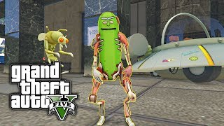 Download Youtube: GTA 5 MOD - Pickle Rick! (Rick and Morty)