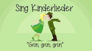 Kinderlieder Zum Mitsingen - Grün, Grün, Grün Sind Alle Meine Kleider (Lyrics)