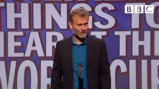 Unlikely things to hear at the World Cup   Mock the Week - BBC