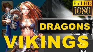 Dragons & Vikings Empire Clash Game Review 1080P Official Boombit Strategy 2016