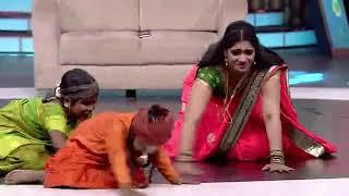 Serial Actress Krithika Hot Hip Slow Motion