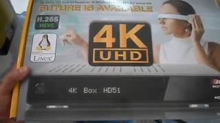 Ax 4K Box E2 Linux UHD HD51 Satellite Receiver