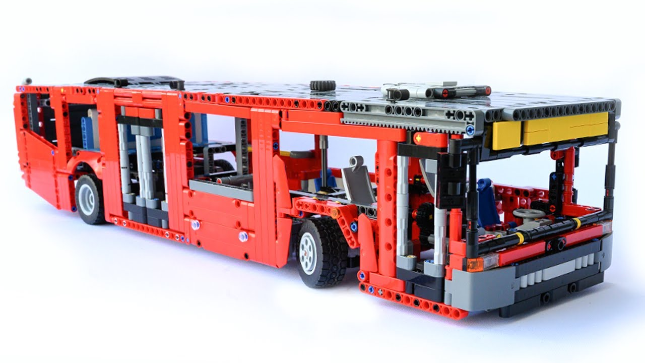 LEGO Technic BUS - 42098 C model - with instructions