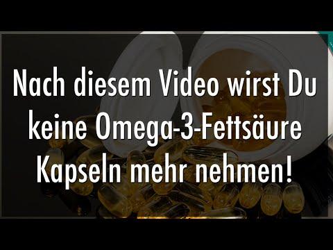 Fischölkapseln Adé! Deutsches Ministerium spricht endlich Machtwort bzgl. Omega 3 Fettsäure Kapseln!