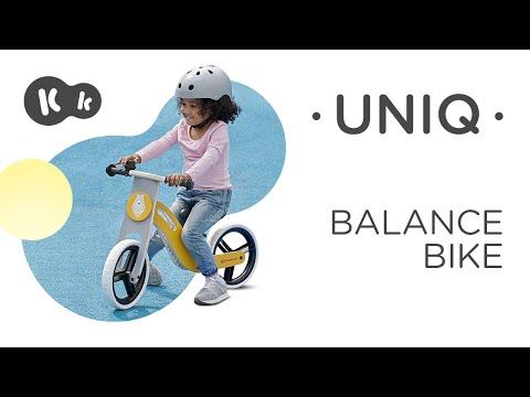 Bicicleta sin pedales color rosa UNIQ Kinderkraft