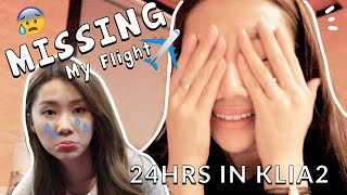 VLOGMAS #9 MISSING MY FLIGHT FOR THE FIRST TIME???!!!