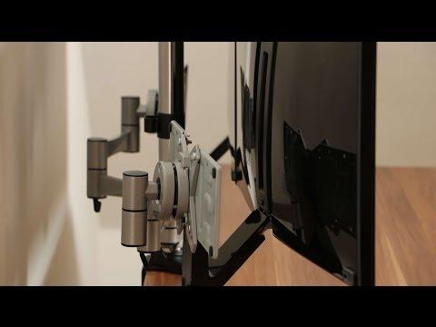 monitorhalterung 2 fach